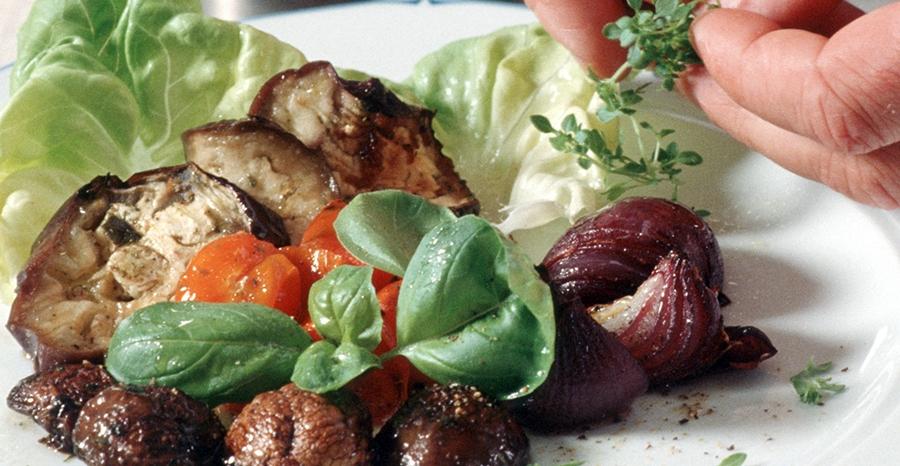 Vollwertige Mittelmeerküche - Vegetarische Rezepte - Italienische