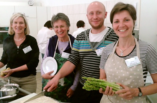 vegan kochen: seminar kurs fortbildung - ugb-gesundheitsberatung